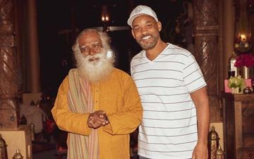 Sadhguru Meets Will Smith; Says It Was A Pleasure To Spend Time With The Star And His Family- PICS