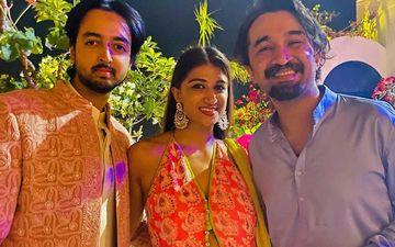 Shraddha Kapoor's Cousin Priyaank Sharma Gets Engaged To Girlfriend Shaza Morani; Brother Siddhanth Kapoor Shares Pic From Intimate Ceremony