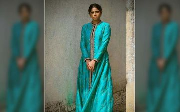 Sai Tamhankar Looks Tantalizingly Beautiful In An Ethnic Gown For 'Dhurala' Show In Qatar