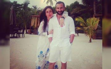 Saif-kareena Show Us How To Have Fun In Maldives