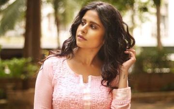 Sai Tamhankar Spends Time With This Four Legged Fan During Shoot