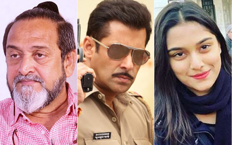 "Daddy Mahesh Manjrekar Imposes ""No Dating Clause"" On Dabangg 3 Heroine Saiee Manjrekar"