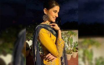 Saiee Manjrekar's Glimmering Look On Eid-Ul-Adha Looks Gorgeous