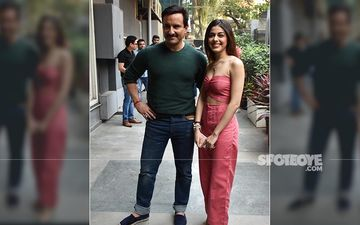 Jawaani Jaaneman Duo Saif Ali Khan And Alaya F Kick-Start Film Promotions With Style Sans Tabu