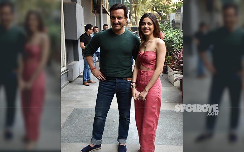 Jawaani Jaaneman Duo Saif Ali Khan And Alaya F Kick-Start Film Promotions With Style Sans Tabu