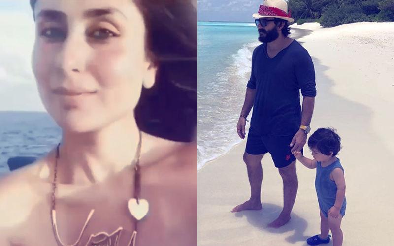 Bow Down To Beach Goddess Kareena Kapoor Khan; Pataudis' New Pics From Maldives