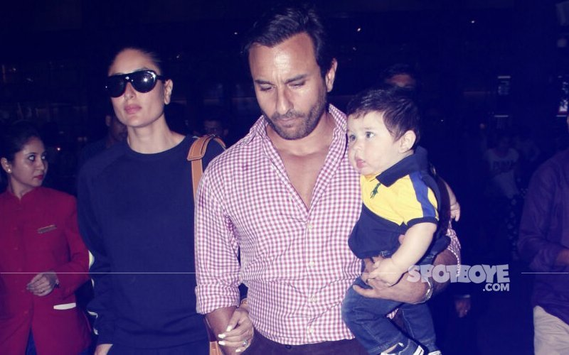 Oh Look! Saif Ali Khan Got A Special Gift For Kareena Kapoor & Taimur