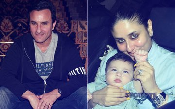 Saif Ali Khan Takes A Break From Controversies, Flies Off With Kareena Kapoor & Taimur To The Swiss Alps