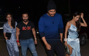 Saif Ali Khan, Kareena Kapoor, Malaika Arora, Arjun Kapoor Party The Night Away-Pics And Videos Inside