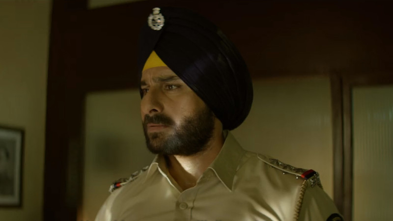 saif ali khan plays a cop in sacred games