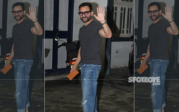 Saif Ali Khan Repeats His Pants On Two Consecutive Days, Proves He Is Just One Of Us