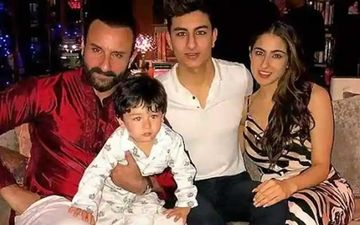 Saif Ali Khan Is Convinced That His Sons Taimur Ali Khan And Ibrahim Ali Khan Will Be Actors; 'Tim Is Entertaining Us Already'