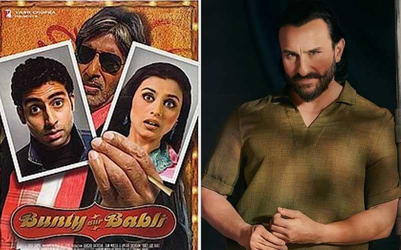 Bunty Aur Babli 2: Saif Ali Khan Approached To Play The Lead in The Sequel Of Abhishek Bachchan And Rani Mukerji 2005 Release?