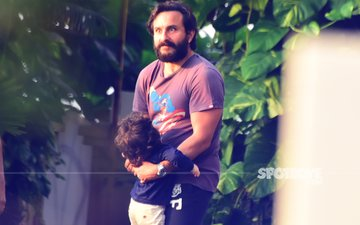 Weekend Pick: Taimur Jumps In Saif's Arms- Catches Daddy By Surprise!
