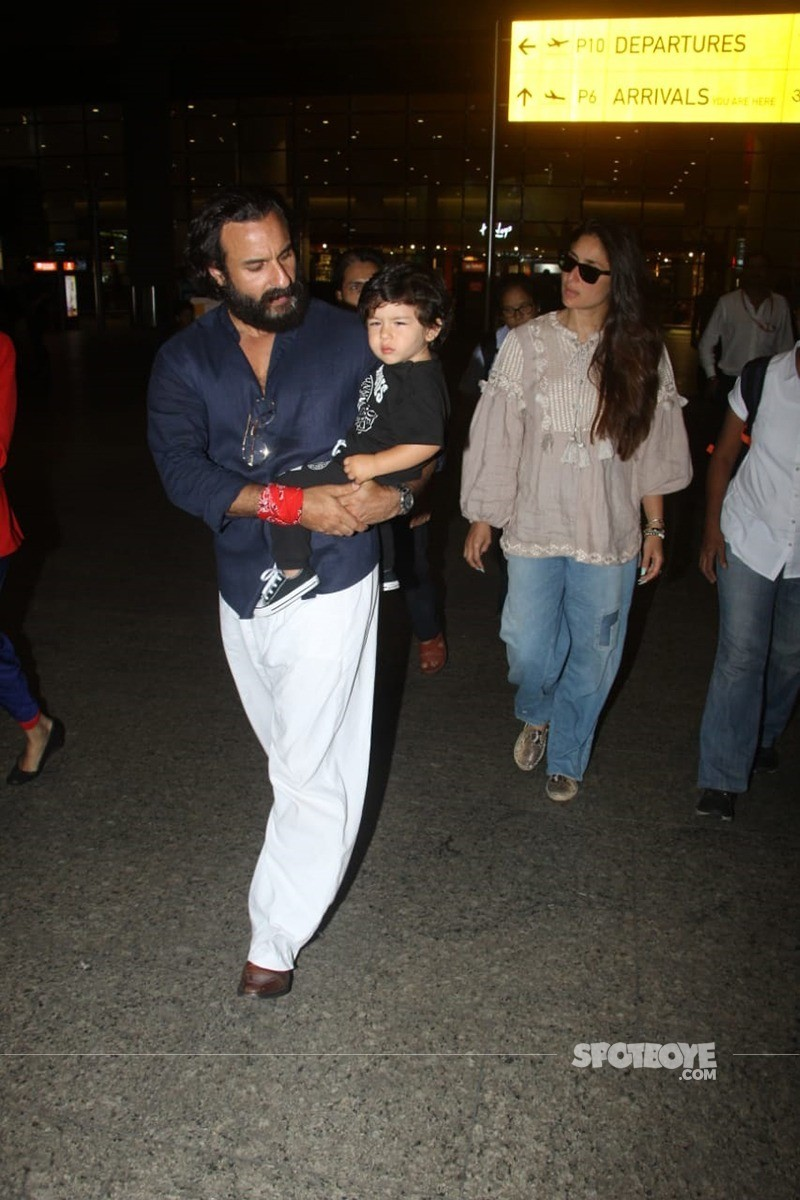saif ali khan with kareena kapoor and taimur