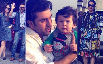 Taimur Is The Star At Shashi Kapoor's Christmas Brunch