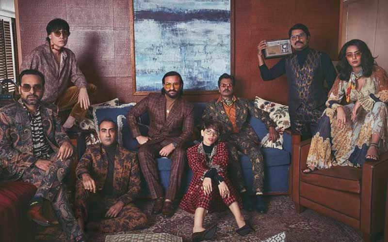 Sacred Games 2: Saif Ali Khan, Nawazuddin Siddiqui, Pankaj Tripathi & Others Put On Their Gangsta Look For A Photo Shoot