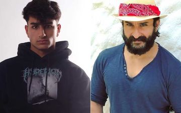 Saif Ali Khan's Son Ibrahim Flirts With The Cam In New Pic; Netizens Say, 'Look More Like Your Father Than Saif Himself'