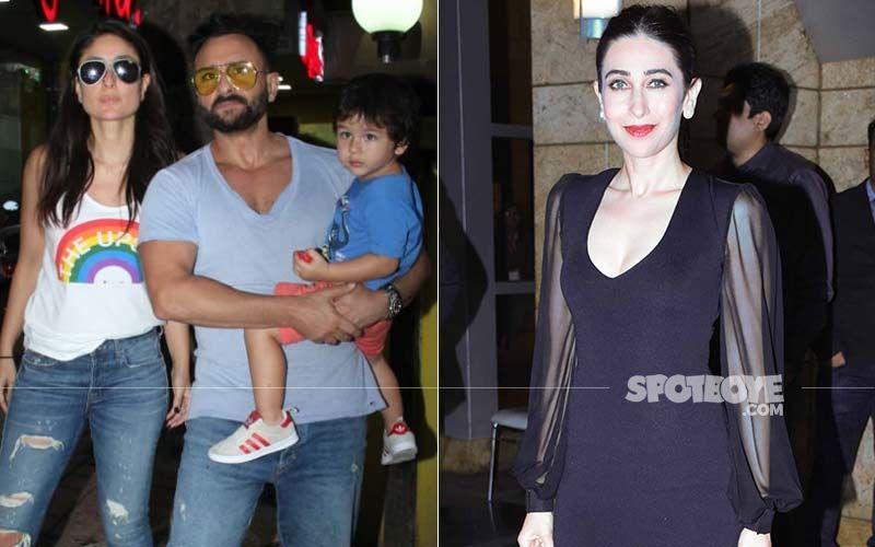 Kareena Kapoor Khan-Saif Ali Khan Welcome A Baby Boy: Taimur Ali Khan, Karisma Kapoor Arrive At Breach Candy Hospital To Meet The Little Nawab