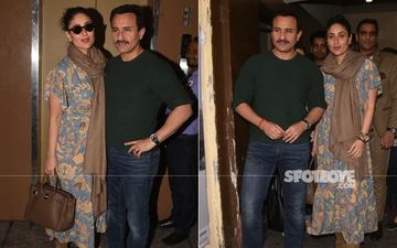 Kareena Kapoor Khan-Saif Ali Khan's Movie Date: Bookmark Bebo's Look For Your Next Movie Night