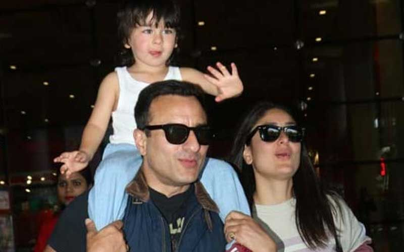 "Saif Ali Khan Scolds Paparazzi On Clicking Taimur Ali Khan, ""Enough, You Are Not Supposed To Do That"""
