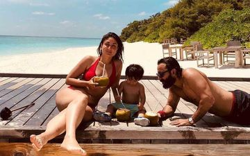 Kareena Kapoor Khan Makes Coronavirus Lockdown Difficult For Us; Teases With A Bikini Picture From Their Beach Vacation