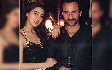 Sara Ali Khan Reacts To Daddy Saif Ali Khan's 'Not An Absentee Father' Comment