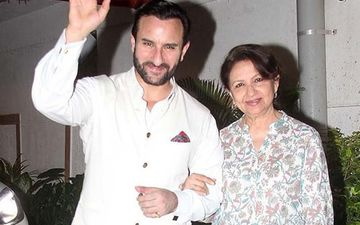 Coronavirus Lockdown: Saif Ali Khan Worried About Mother Sharmila Tagore And Her Quarantine Attitude, Finds It 'Scary'