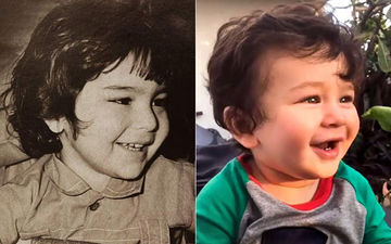 Picture Of Little Saif Ali Khan Goes Viral. Isn't Taimur His Spitting Image?