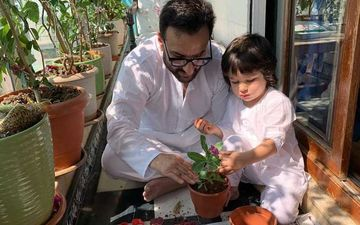 Taimur's 'Potty' Video On Primetime News Debate Trends On Social Media; Twitterverse Call The Host Of The Show 'Ridiculous'