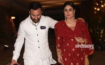 Saif Tells Paps He Won't Look Into The Camera 'For A Better Profile'; Kareena Kapoor's Reaction Is PRICELESS - Video