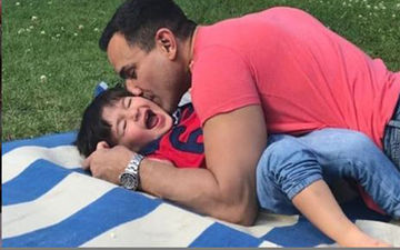 Saif Ali Khan's Picture Smothering  Taimur Ali Khan With Kisses Proves What A Doting Father He Is!