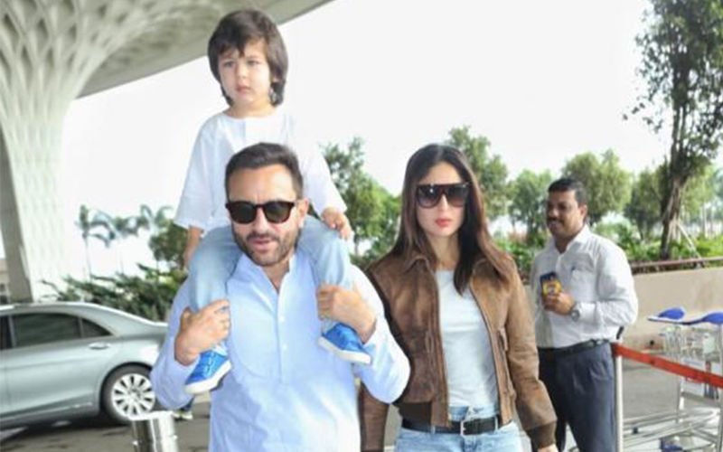Taimur, Kareena Kapoor Khan And Saif Ali Khan Get Lost While On Their Way To Pataudi, Locals Bombard Them With Selfie Requests