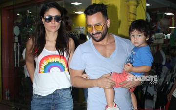 Saif, Kareena, Taimur Head Out For Shopping And We're Digging Those Funky Shades