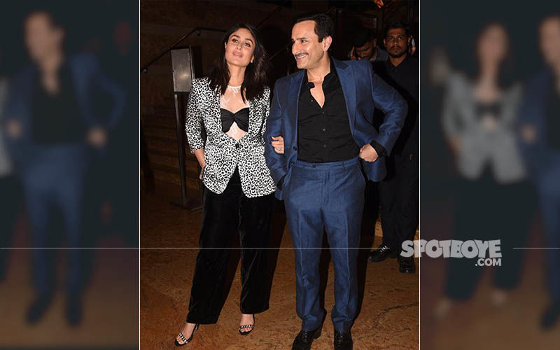 Kareena Kapoor Khan And Saif Ali Khan Shoot For An Ad Film But It's Bebo's OFF-Camera Expressions That Are Making Us ROFL - Video