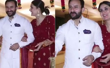 Saif Ali Khan Questions Photographer, 'Bhaisahab, Never Seen You Before'; Kareena Kapoor Khan Has A Winning Answer – VIDEO