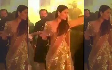 Kareena Kapoor Khan Is In High Spirits As She Dances To Despacito While Hubby Saif Ali Khan Has His Eyes On Her-WATCH TB VIDEO