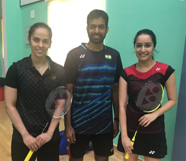 saina with shraddha kapoor