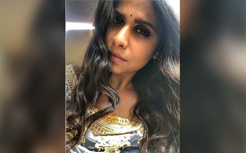 Sai Tamhankar Is A Splash Of Pastels This Holi With Her Stunning Gown