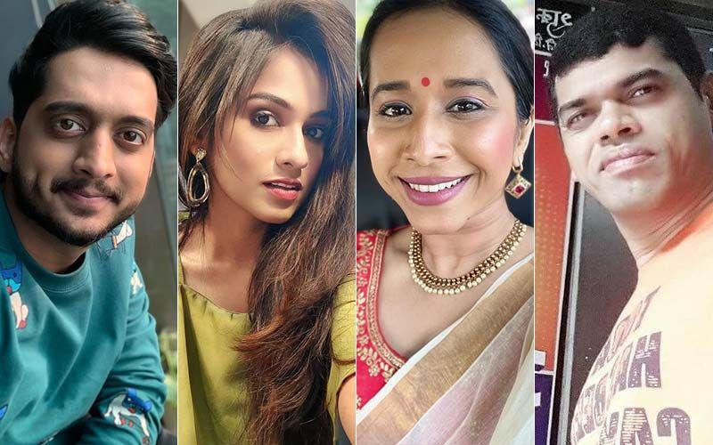 Sakal Sanman 2021: Amey Wagh, Shivani Baokar, Shreya Bugde, Siddharth Jadhav Grace The Red Carpet