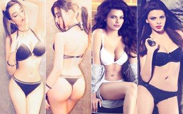 Bikini Alert: Sakshi Chopra & Sherlyn Chopra Strip For Photoshoots