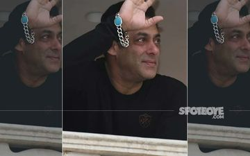 Salman Khan Gets Teary-Eyed As He Takes In The Massive Crowd Gathered To Greet Him Outside Galaxy