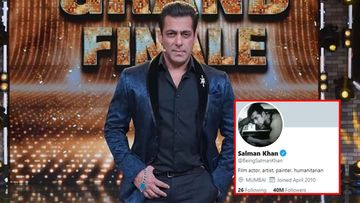 Salman Khan Clocks In A Whopping 40 Million Followers On Twitter; Fans Hail The Superstar, Call Him 'King Of All Kings'