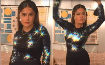 Salma Hayek 'Gets Loose' For Jimmy Fallon; Shakes Her Derriere In A Sparkly Number – Video