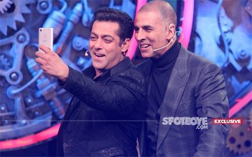 Was Bigg Boss 11 Finale Stage Set To Convey That Salman Is Out & Akshay In?