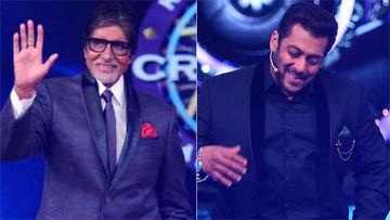 केबीसी को होस्ट करना चाहते है सलमान खान, अमिताभ बच्चन ने ऐसे किया स्वागत