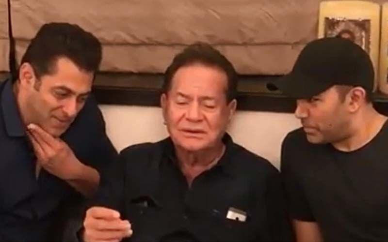 Salman And Father Salim Khan Sing A Classic Mohammed Rafi Song Evoking Heavy Nostalgia- Watch Video