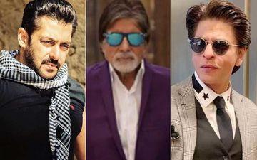 When Amitabh Bachchan, Shah Rukh Khan And Salman Khan Danced Together Literally Setting The Stage Ablaze- WATCH
