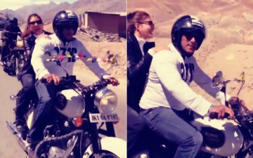 Video: जैकलीन फ़र्नांडिस को अपने बाइक पर कश्मीर की सैर करते हुए नज़र आए सलमान खान