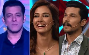 Bigg Boss 14 Weekend Ka Vaar PROMO: Disha Patani Gets Host Salman Khan To Dance On Slow Motion; Randeep Hooda Tries To Match Their Moves - WATCH